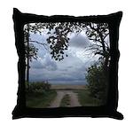 Prairie Portal Throw Pillow