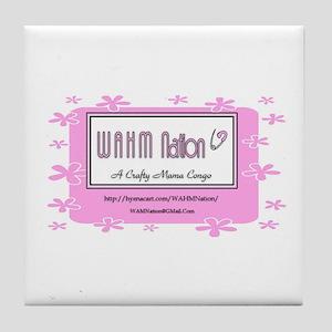 WAHM Nation Tile Coaster