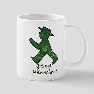 Gruenes Maennchen! Mugs