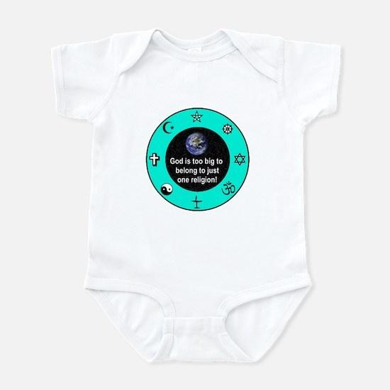 Big God Religion III Infant Bodysuit