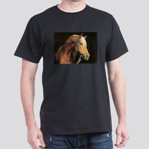 Arabian Barb Horse Lover Dark T-Shirt
