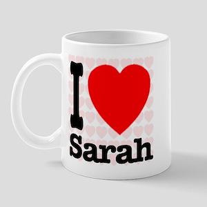 I Love Sarah Mug