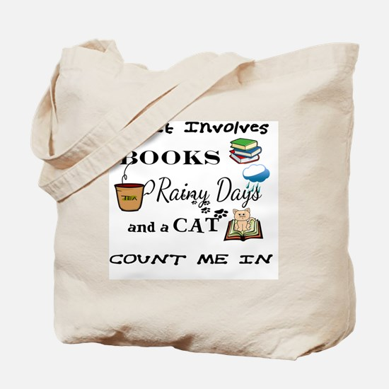 Cool Cats books Tote Bag