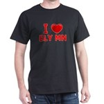 I Love Ely Dark T-Shirt