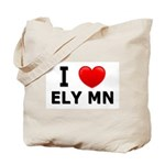 I Love Ely Tote Bag