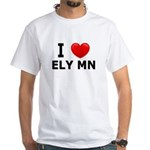 I Love Ely White T-Shirt