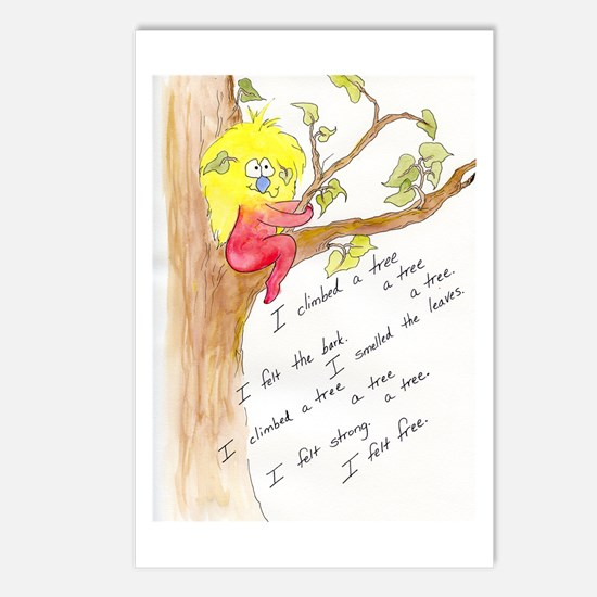 I Climbed a Tree Postcards (Package of 8)