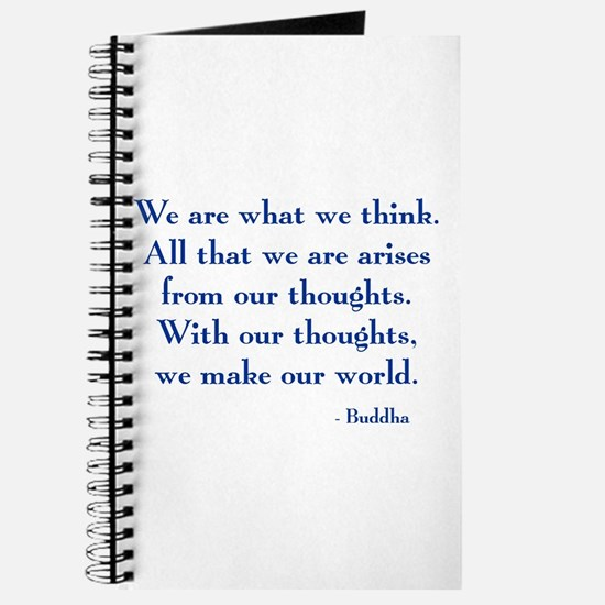 We Are What We Think Journal
