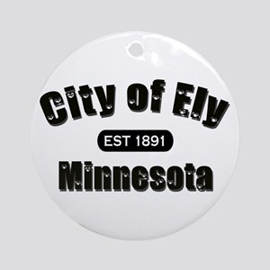Ely Established 1891 Ornament (Round)