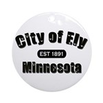 Ely Established 1891 Ornament (Round)