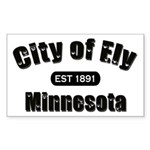 Ely Established 1891 Rectangle Sticker 50 pk)