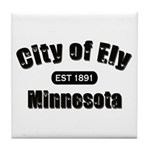 Ely Established 1891 Tile Coaster