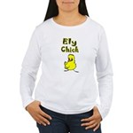 Ely Chick Women's Long Sleeve T-Shirt