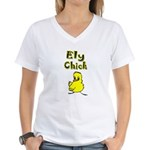 Ely Chick Women's V-Neck T-Shirt