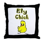 Ely Chick Throw Pillow