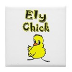 Ely Chick Tile Coaster