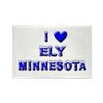 I Love Ely Winter Rectangle Magnet (10 pack)