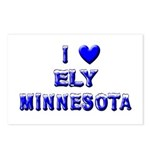I Love Ely Winter Postcards (Package of 8)