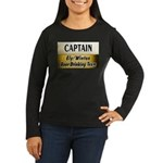 Ely Beer Drinking Team Women's Long Sleeve Dark T-
