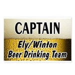 Ely Beer Drinking Team Postcards (Package of 8)