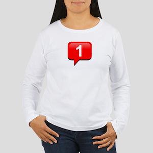 Notification Women's Long Sleeve T-Shirt