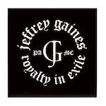 Jeffrey Gaines Tile Coaster