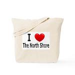 I Love The North Shore Tote Bag