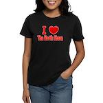 I Love The North Shore Women's Dark T-Shirt