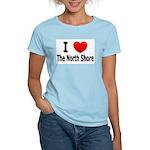 I Love The North Shore Women's Light T-Shirt