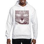 Vigilant Cat Hooded Sweatshirt