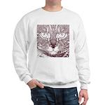 Vigilant Cat Sweatshirt