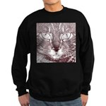 Vigilant Cat Sweatshirt (dark)