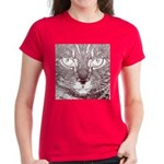 Vigilant Cat Women's Dark T-Shirt