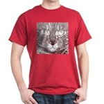 Vigilant Cat Dark T-Shirt