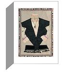 Alma Lesch fabric collage Cards (Pk of 10)