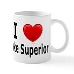 I Love Lake Superior Mug