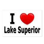 I Love Lake Superior Postcards (Package of 8)