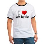 I Love Lake Superior Ringer T
