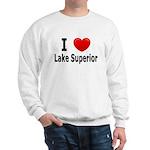 I Love Lake Superior Sweatshirt