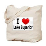 I Love Lake Superior Tote Bag