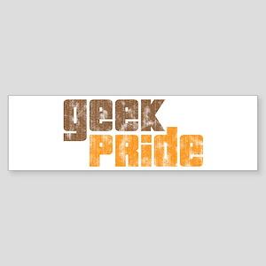 Geek Pride Bumper Sticker