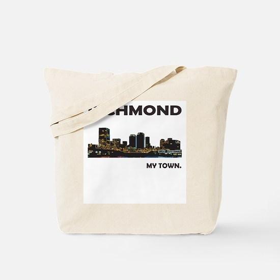 Unique My town Tote Bag