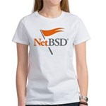 NetBSD Devotionalia + TNF Support Women's T-Shirt
