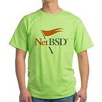 NetBSD Devotionalia + TNF Support Green T-Shirt