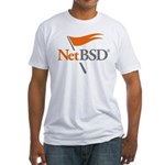 NetBSD Devotionalia + TNF Support Fitted T-Shirt
