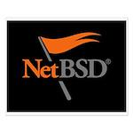 NetBSD Devotionalia + TNF Support Small Poster