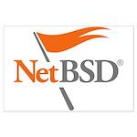 NetBSD Devotionalia + TNF Support Large Poster