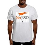 NetBSD Devotionalia + TNF Support Ash Grey T-Shirt