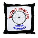 Salisbury Cycling Club Throw Pillow