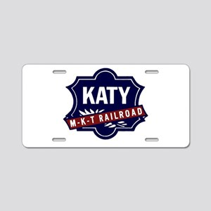 Katy Lines Aluminum License Plate